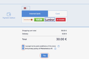 Simple checkout